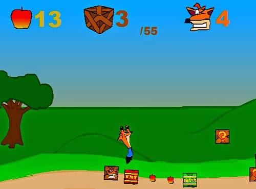 لعبة كراش crash Bandicoot لعبة اكشن ومغامرة مجانا