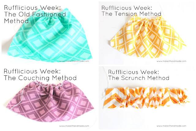 Rufflicious Week Wrap Up at Make It Handmade