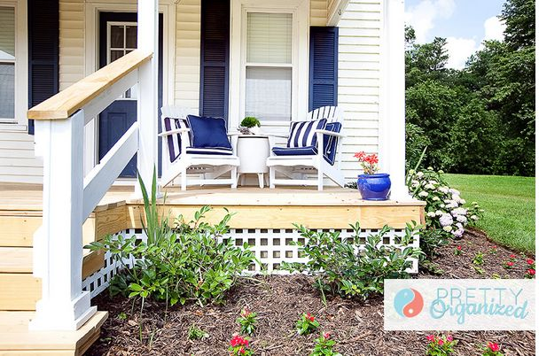 Affordable Porch Makeover