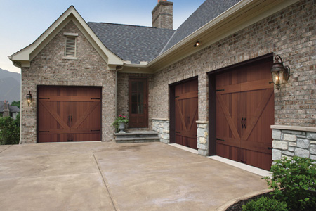 Garage door replacement 10 tips for making the right for Clopay wood garage doors