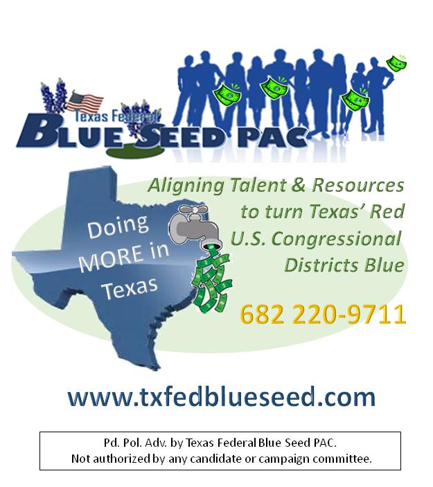 Texas Federal Blue Seed