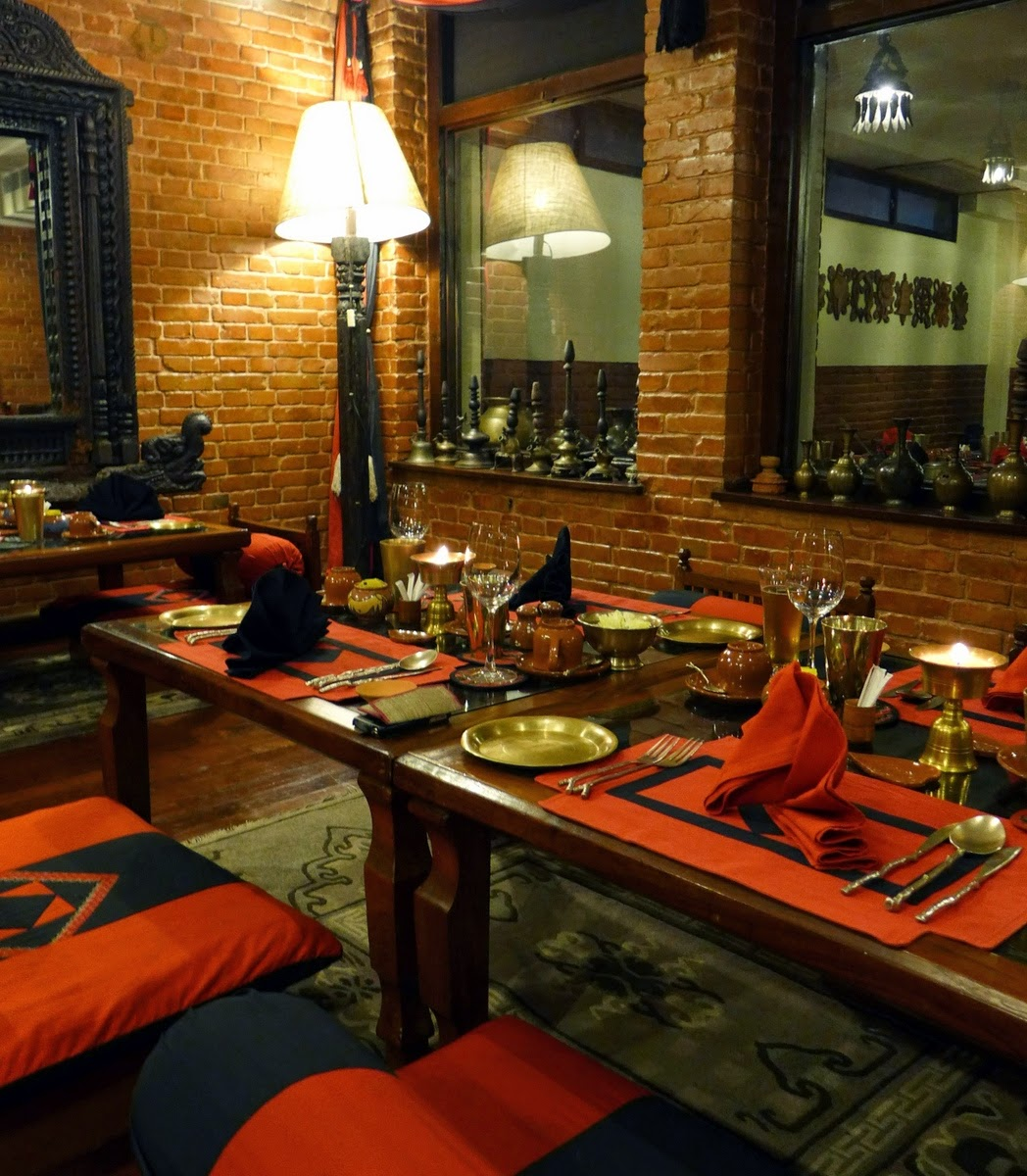 Krishnarpan, Authentic Nepalise Feast, Dwarika's Hotel, Kathmandu