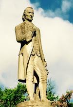 Christian Reichart, Begründer des ge- werblichen Garten- baus, lebte von 1685 bis 1775.
