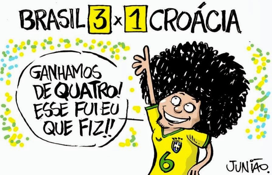 Brasil Croácia Cartoon Marcelo FIFA World Cup, Copa do Mundo
