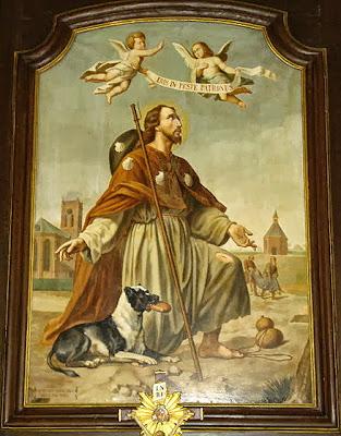 Imagen de San Roque Peregrino Junto al Perro