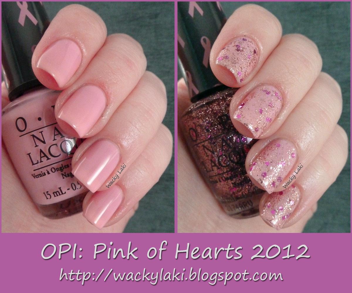 OPI Pink of Hearts 2012Opi Pink Of Hearts 2012