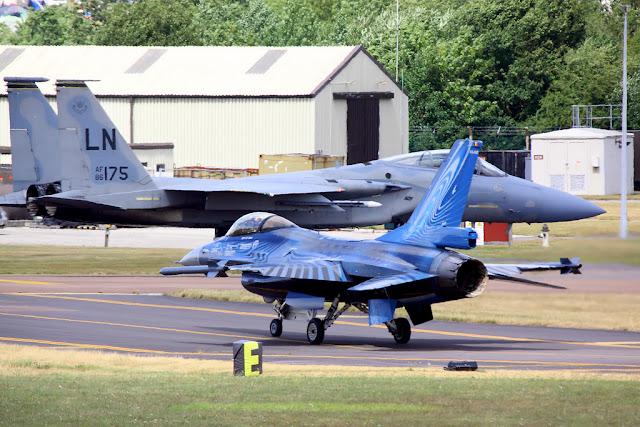 F-15 Eagle and F-16