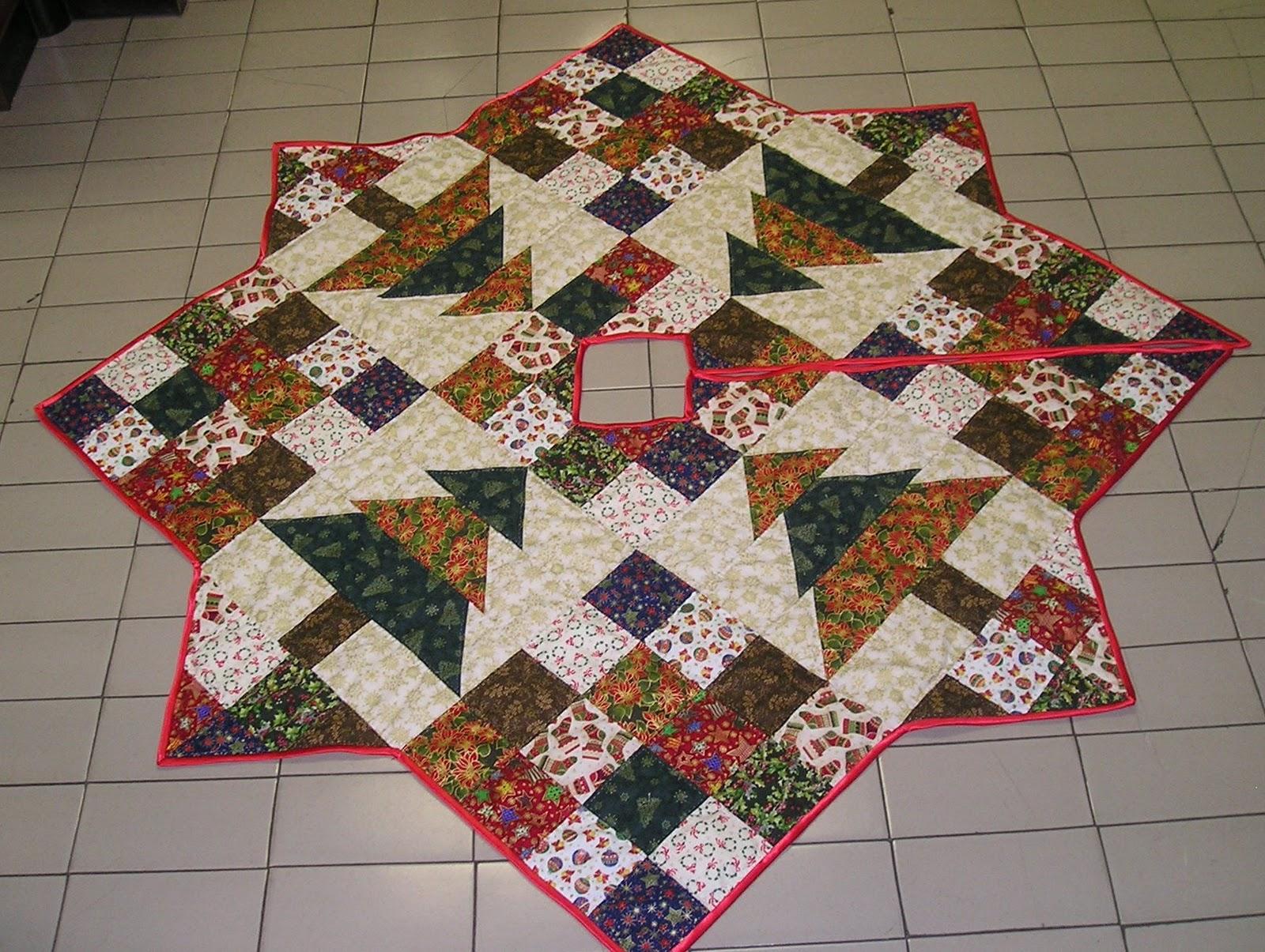 Luchi patchwork cajastur de avil s - Tutorial arbol de navidad ...