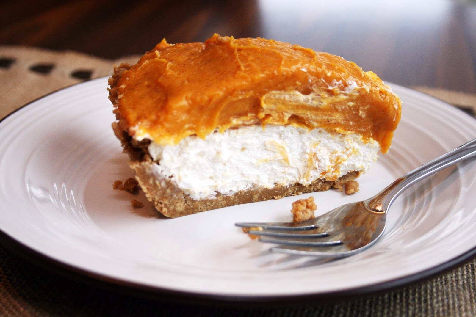 Lazy Gluten Free: Gluten Free Double Layer Pumpkin Pie
