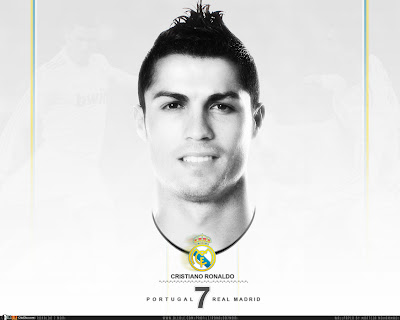Cristiano Ronaldo New Wallpaper 2014 Black White