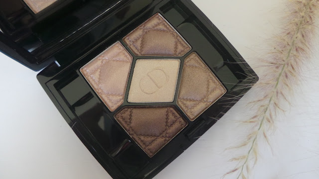 Dior Variation Nude 539 5 couleurs eyeshadow palette review