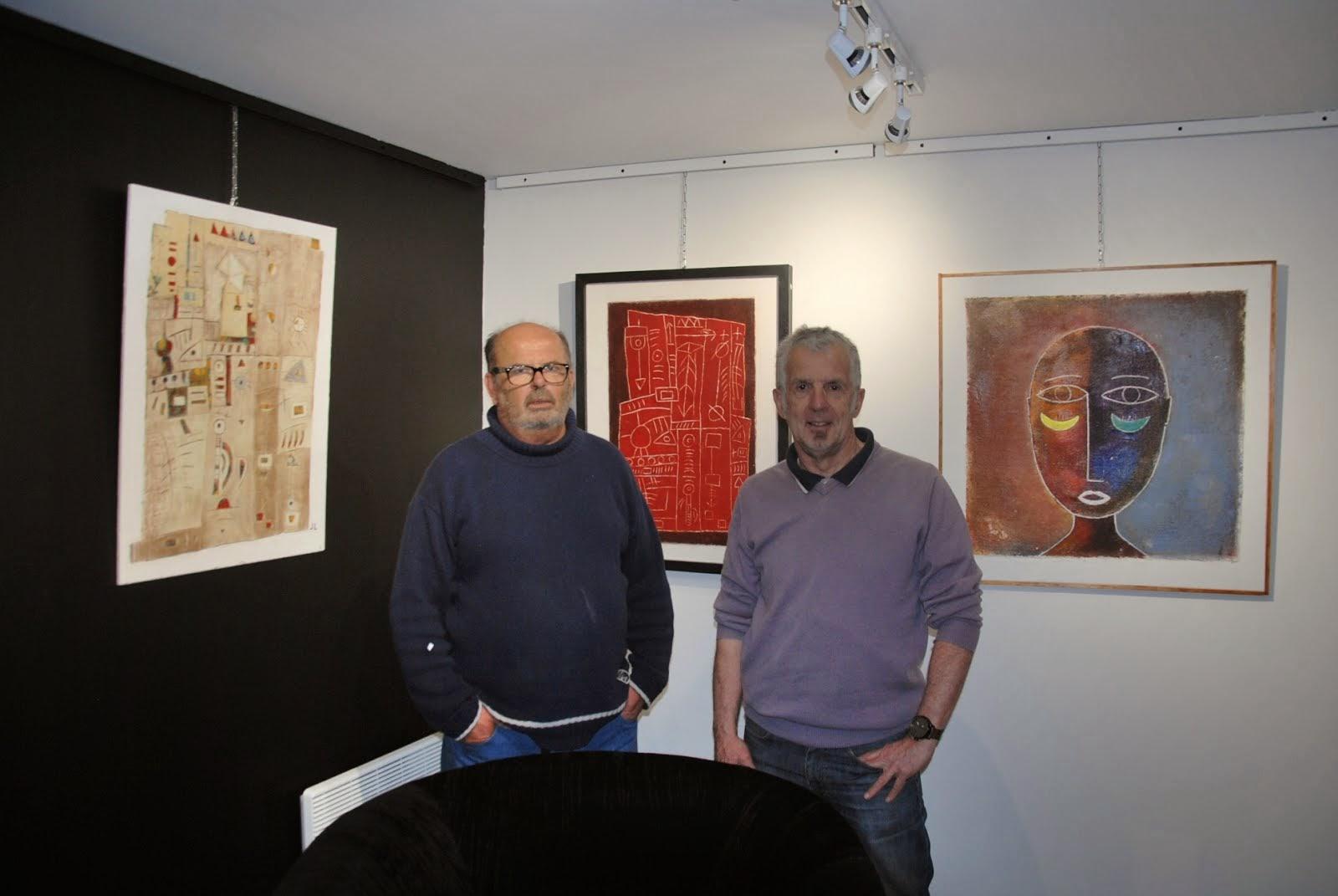 Expo galerie des Corsaires mars 2015