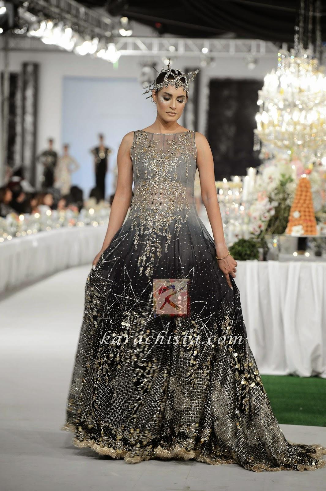 Nadia Hussain in KARMA Swarovski crystals ensemble