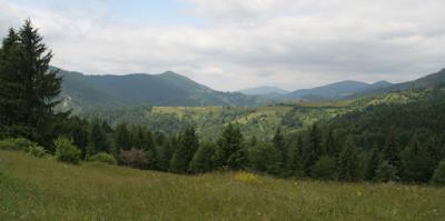 Riposo in Ucraina - il paesaggio montagne