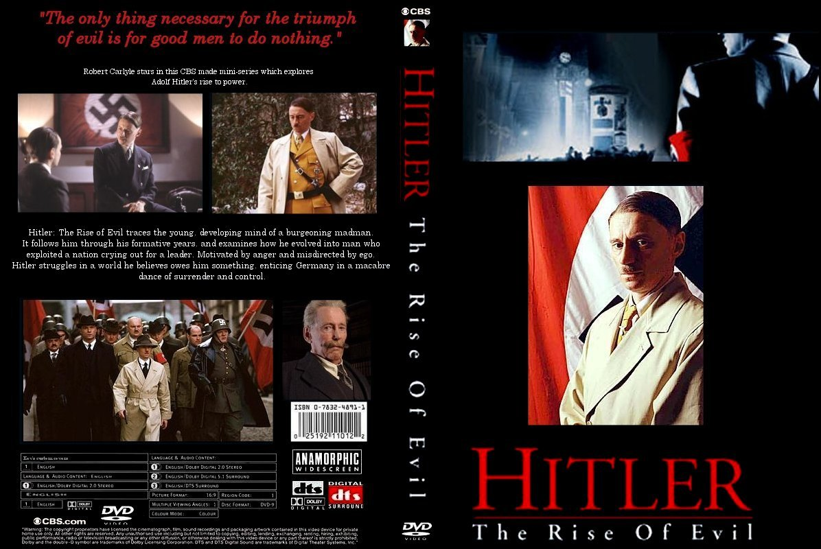 Hitler: The Rise of Evil—Excellent Historical Mini-Series ...