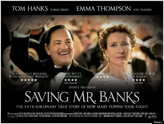 Saving Mr Banks, Mary Poppins,  P.L. Travers