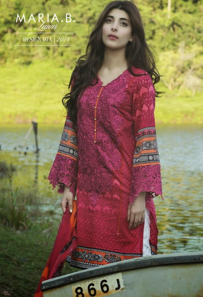 Maria b lawn collection 2015