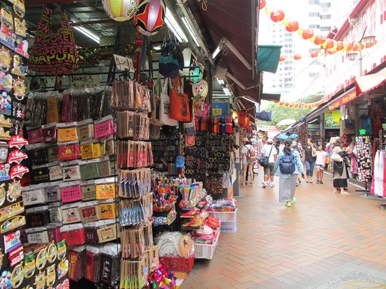 Chinatown market, Singapore