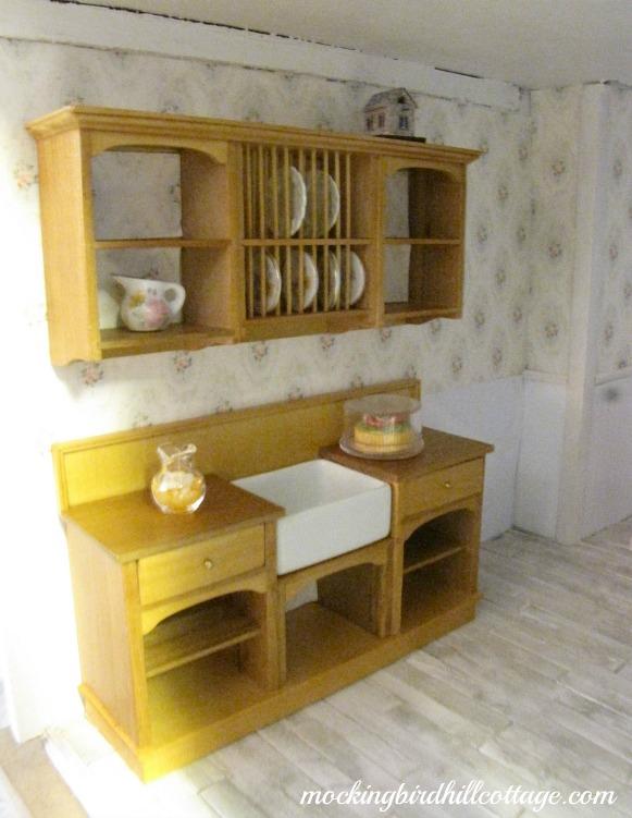 Dollhouse Kitchen Sink Renovating the dollhouse kitchen workwithnaturefo