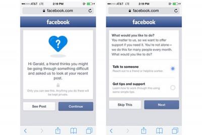 Facebook Tambahkan Fitur Antisipasi Bunuh Diri