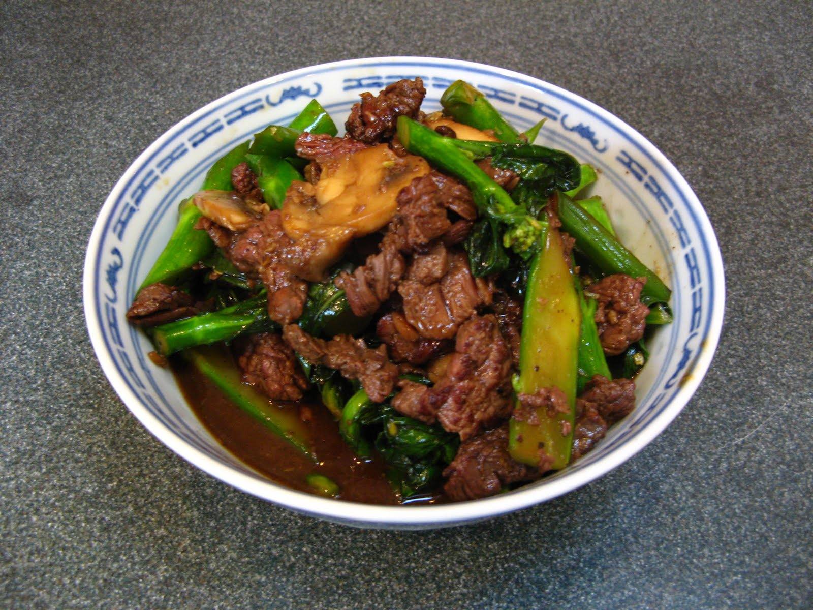 Duck Soup Easy: Chinese Broccoli Beef with Oyster Sauce (芥蘭牛肉 ...