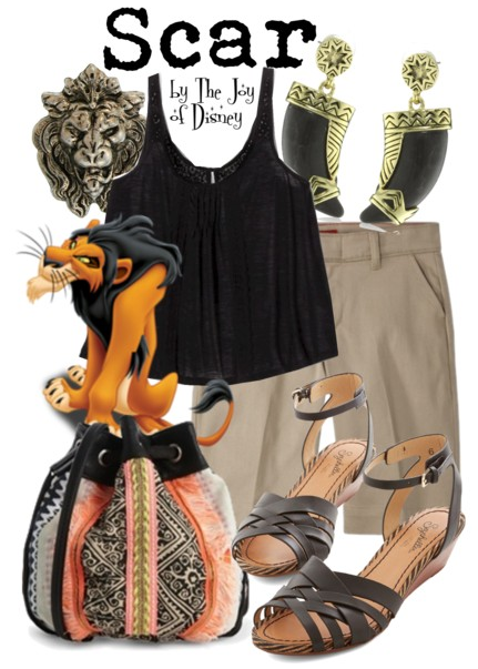 Lion King Scar, Disney Fashion Blog, Lion King Clothes