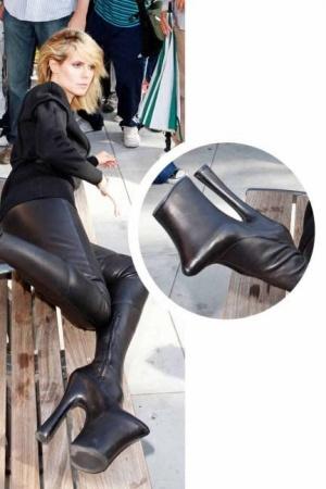 Sepatu Unik Heidi Klum