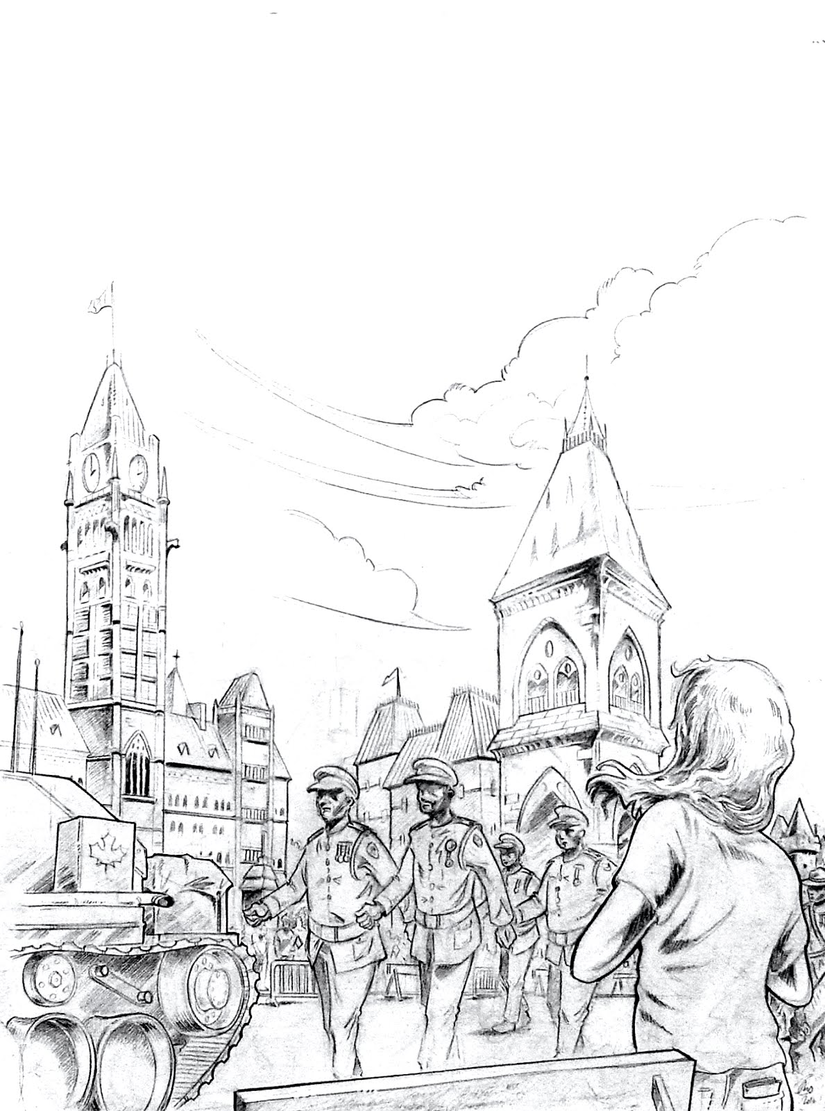 Ottawa à la manière comic book