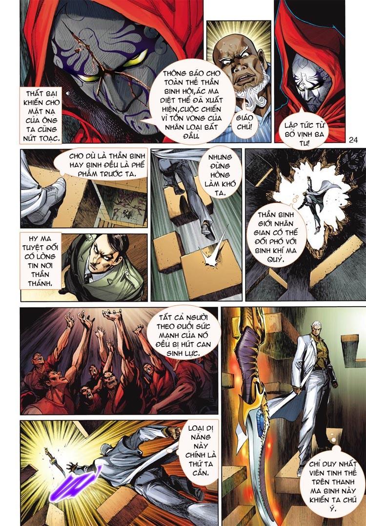 Thần Binh 4 chap 20 - Trang 24