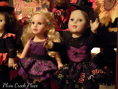 Halloween Costumes for the dolls - Little Jo's Doll Party