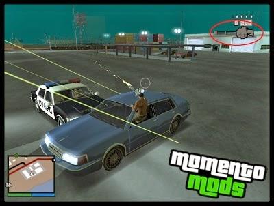 GTA SA - Atirar Com Qualquer Arma Dentro Do Veículo