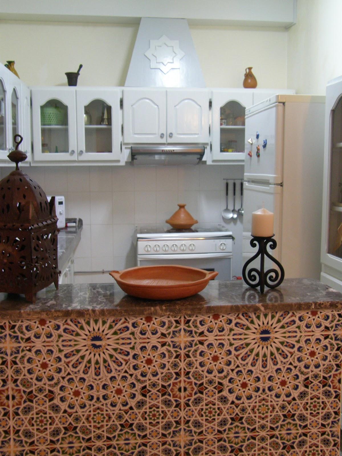 Dar am na la cocina for Mobiliario marroqui