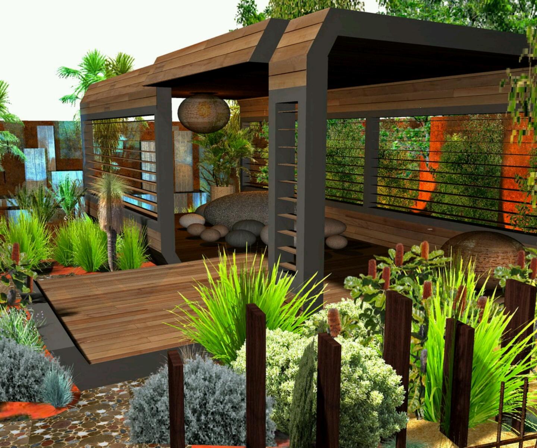 Desain Taman Rumah Minimalis dan Contohnya   Gambar Rumah