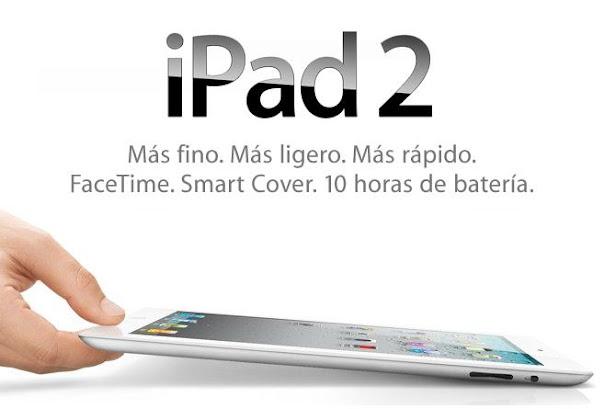 nuevo ipad 2 Apple