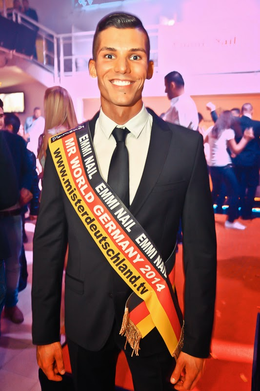 Yasin Bozkurt wins Mister World Germany 2014