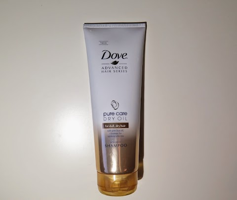 DOVE Advanced Hair Series Pure Care Dry Oil, šampūnas