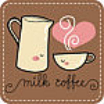 Milk N Coffee Digital Stamps