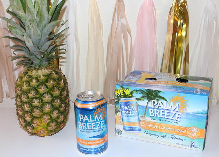 Palm Breeze Pineapple Mandarin Orange Six Pack Cans