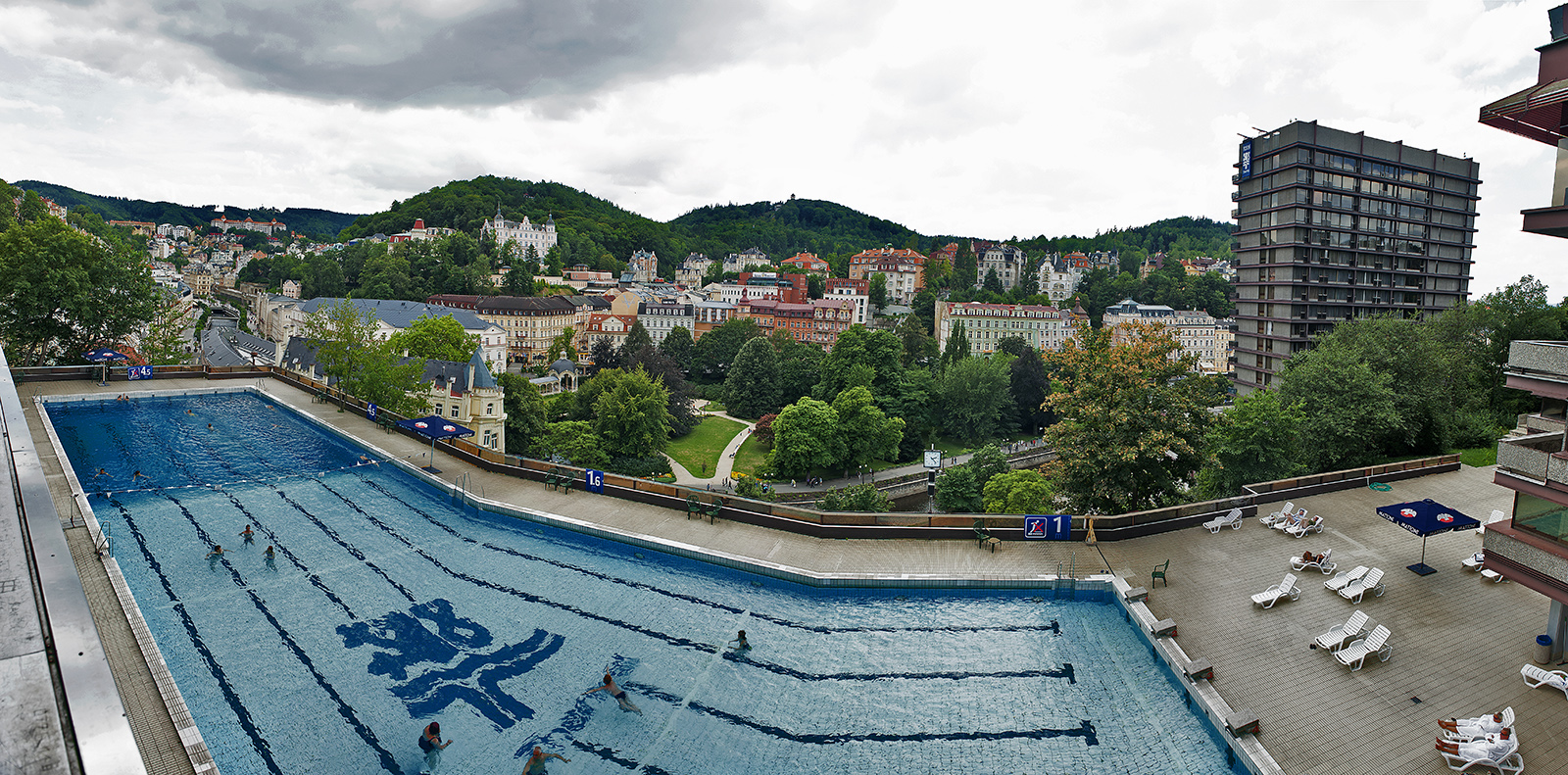 Karlovy Vary, Czech Republic, Hotel Thermal