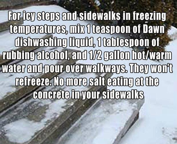 freezing sidewalk home remedy jjbjorkman.blogspot.com