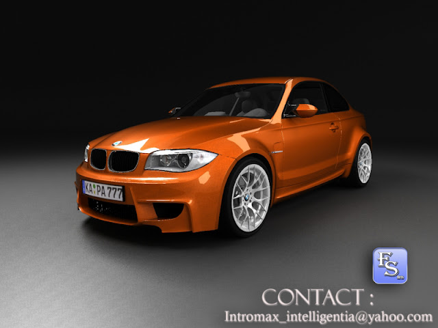 bmw m1 coupe 2011 3d computer generated art and design. Black Bedroom Furniture Sets. Home Design Ideas