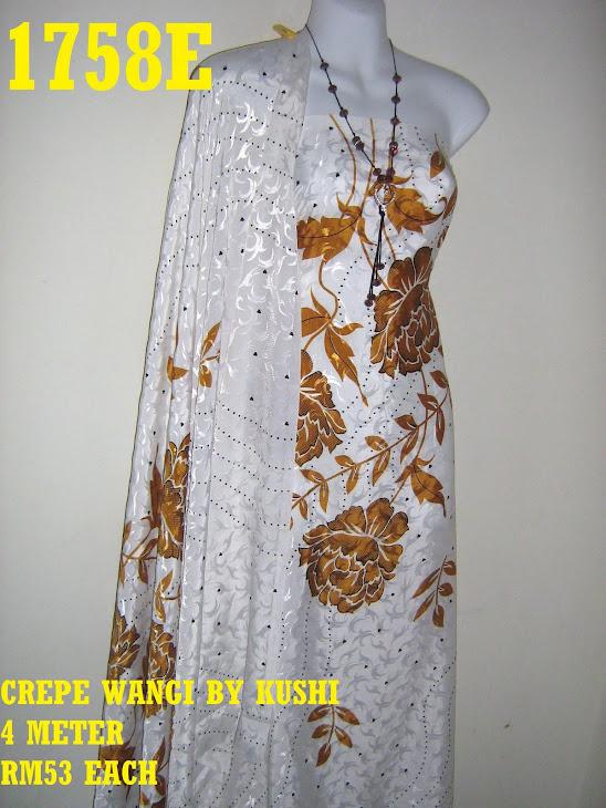 CWK 1758E: CREPE WANGI BY KUSHI, 4 METER