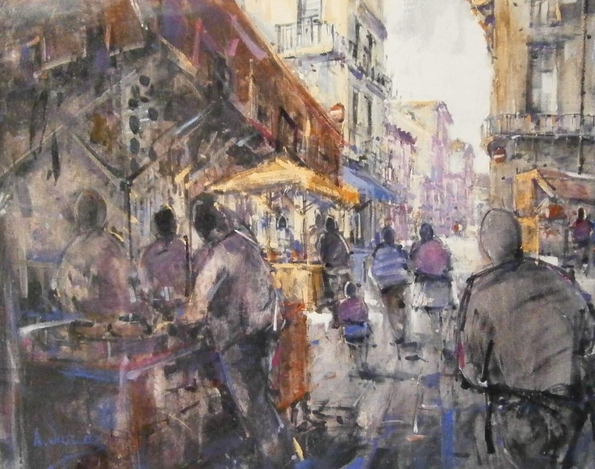Joan coch varis concursos pintura r pida 2013 - Pintur sant fruitos ...