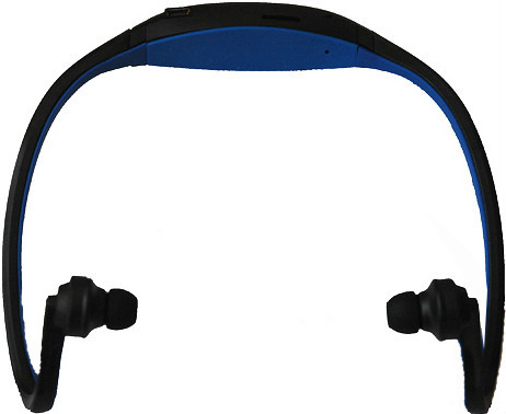 Sports MP3 Player Wireless Headset Headphones For Micro SD/TF Card FM Radio