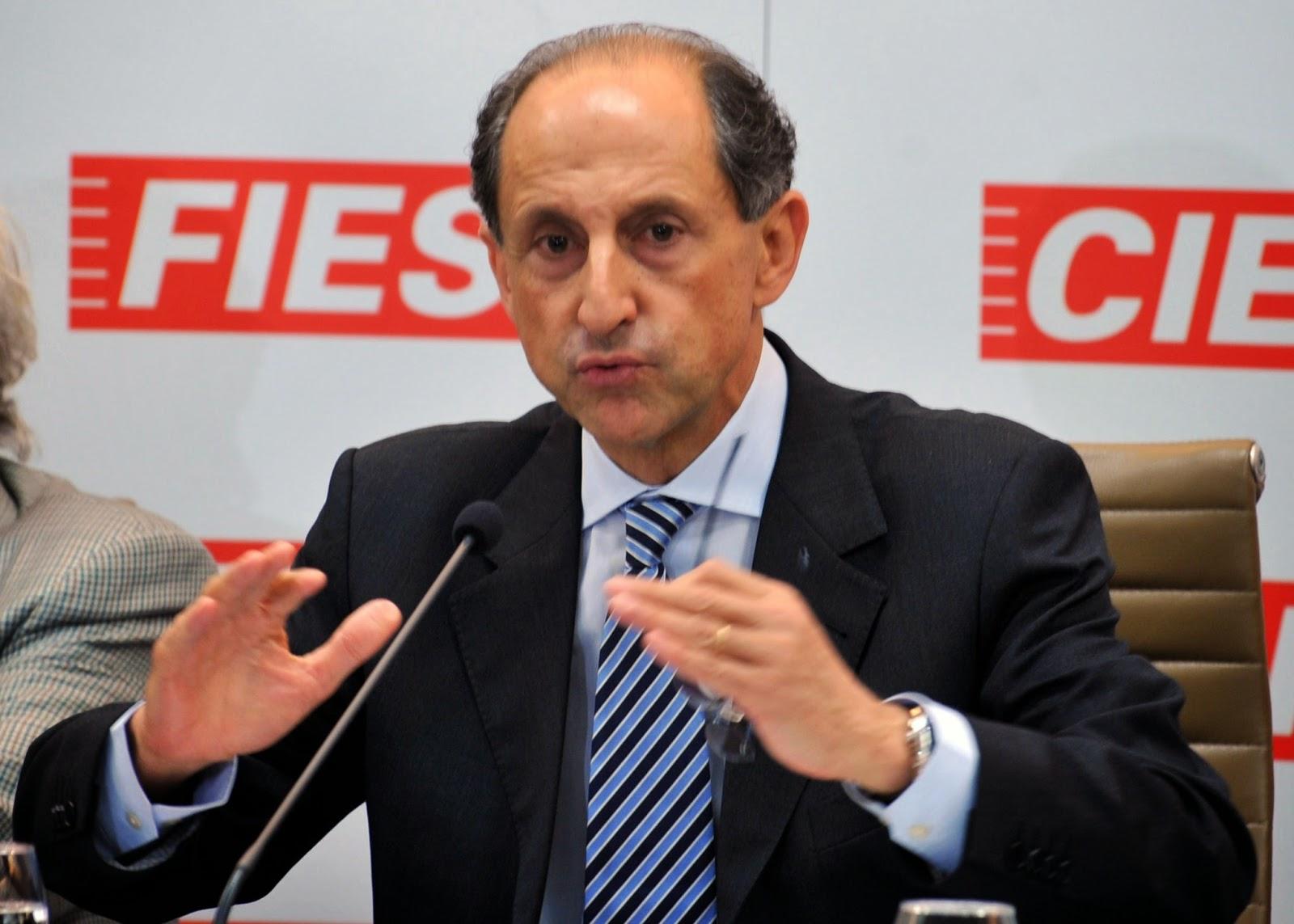 Paulo Skaf, presidente da FIESP - Um Asno