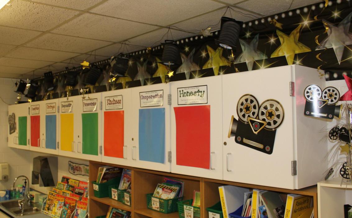 Hollywood Classroom Decor ~ Hollywood themed classroom photos and ideas edition