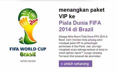 tempat duduk VIP pada Piala Dunia 2014