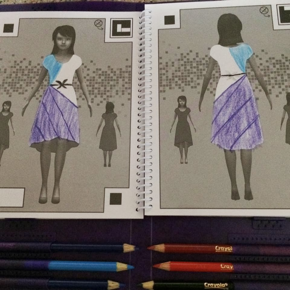 Crayola Fashion Show Templates I love that you can change the