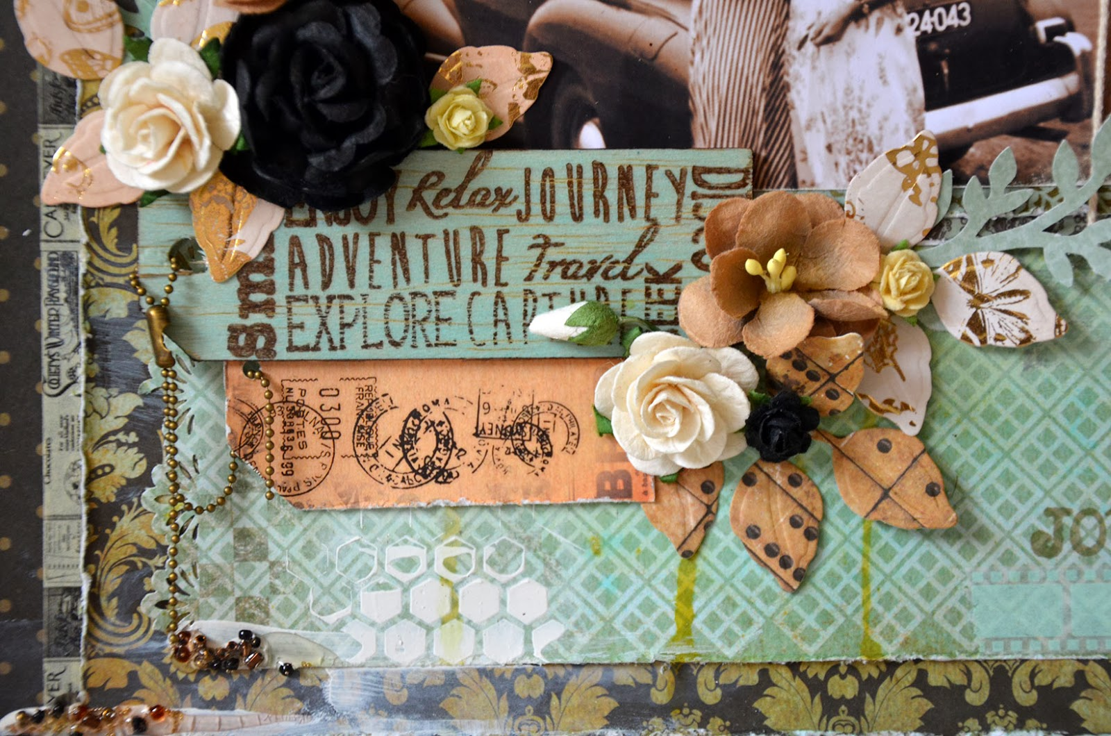 Scrapbooking Travel Layouts