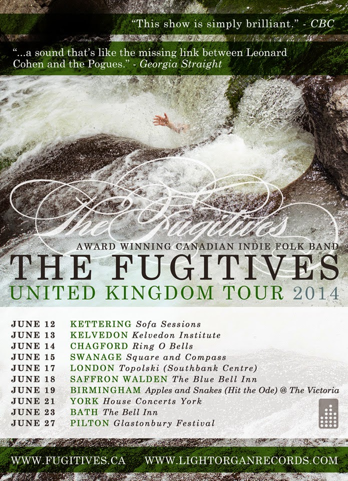 The Fugitives London Date Glastonbury